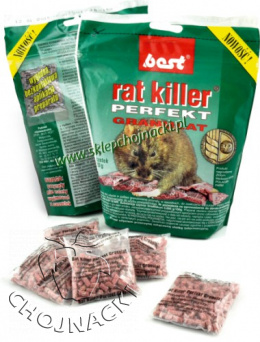 Rat Killer Perfect granulat w saszetkach 240gr